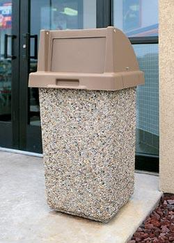 Outdoor Trash Containers Commercial Trash Cans